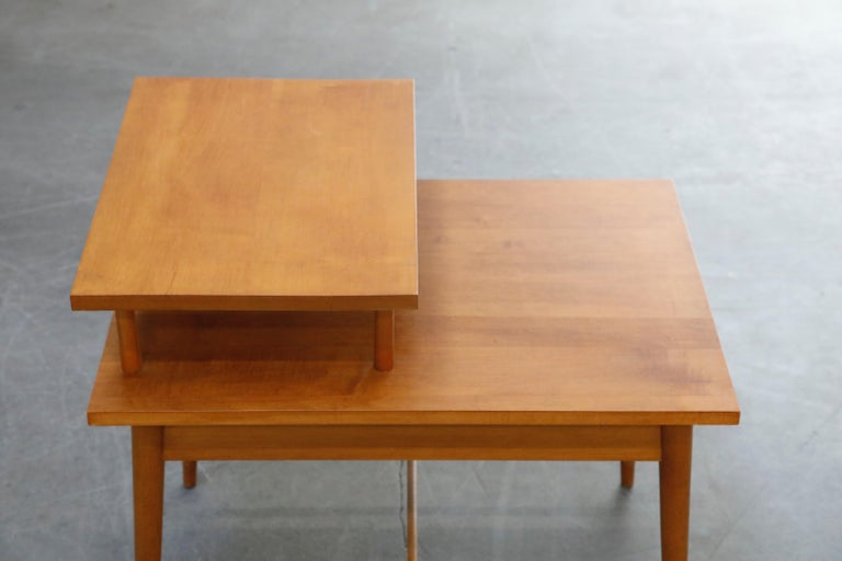 Paul McCobb Planner Group Side Table or Nightstand for Winchedon, circa 1950 For Sale 8