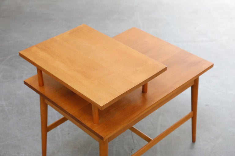 Paul McCobb Planner Group Side Table or Nightstand for Winchedon, circa 1950 For Sale 11