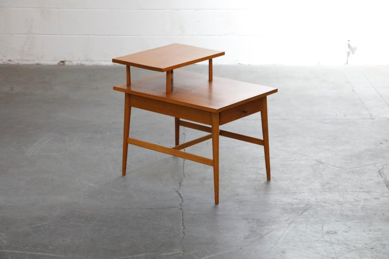 Mid-20th Century Paul McCobb Planner Group Side Table or Nightstand for Winchedon, circa 1950 For Sale