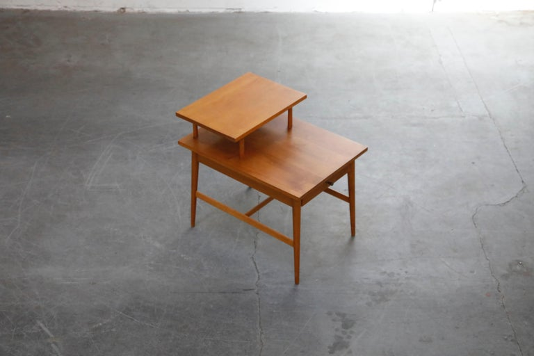 Paul McCobb Planner Group Side Table or Nightstand for Winchedon, circa 1950 For Sale 1