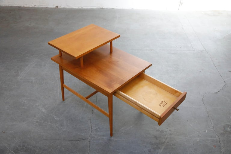 Paul McCobb Planner Group Side Table or Nightstand for Winchedon, circa 1950 For Sale 2