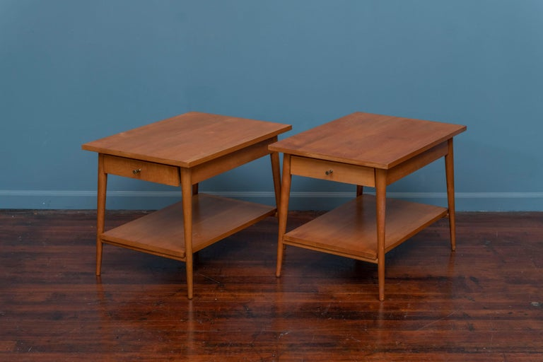 Mid-Century Modern Paul McCobb Planner Group Side Tables for Winchendon For Sale