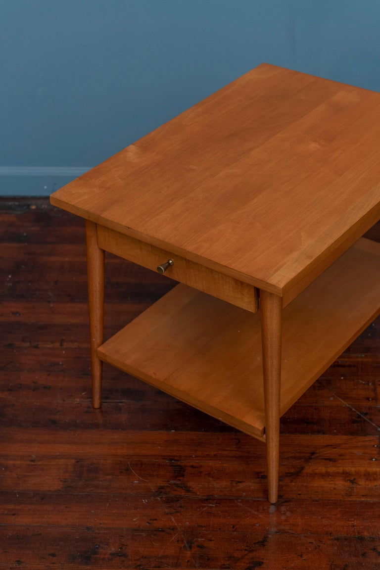 Paul McCobb Planner Group Side Tables for Winchendon In Good Condition For Sale In San Francisco, CA