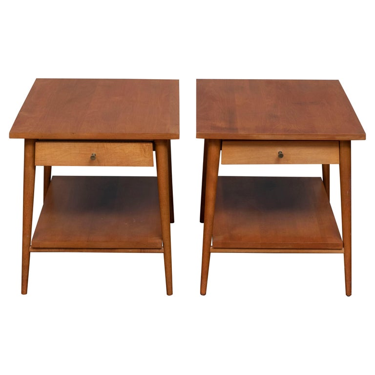 Paul McCobb Planner Group Side Tables for Winchendon For Sale
