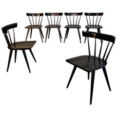 Paul McCobb Planner Group Windsor Style Spindle Back Chairs