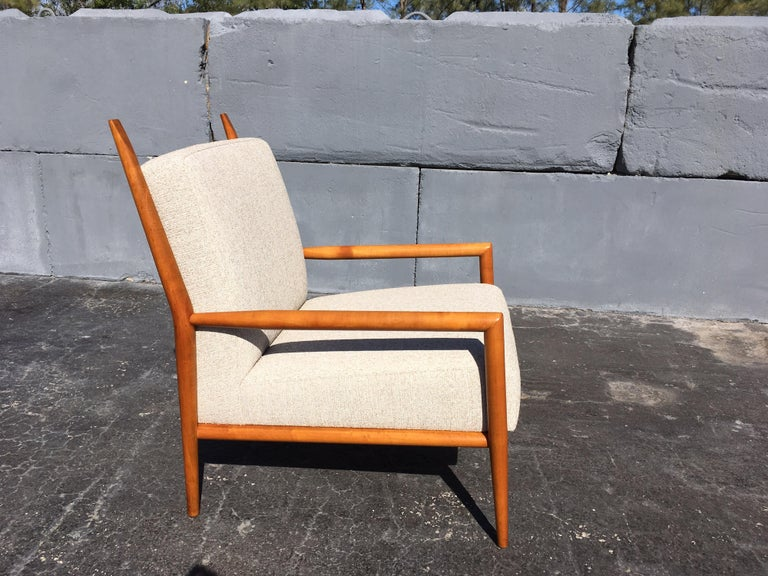 Paul McCobb Planner Lounge Chair In Good Condition For Sale In Opa Locka, FL
