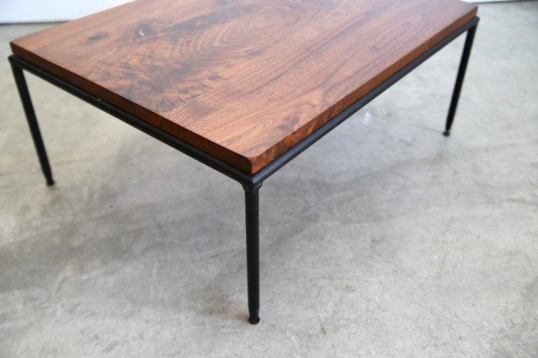 Paul McCobb Refinished End Table Long and Low In Good Condition For Sale In St. Louis, MO