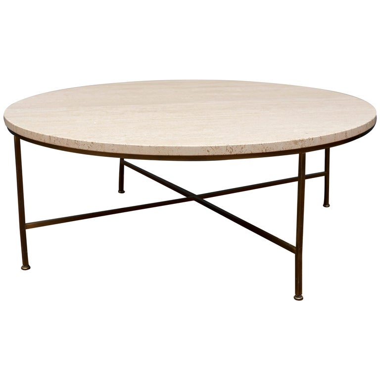 Paul McCobb Round Coffee Table For Sale