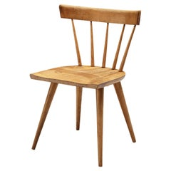 Paul McCobb Spindle Chair in Patinated Birch