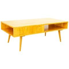 Paul McCobb Style Blonde Coffee Table