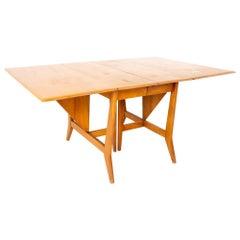 Paul McCobb Style Heywood-Wakefield Midcentury Drop-Leaf Dining Table