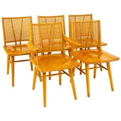 Paul McCobb Style Midcentury Dining Chairs, Set of 5