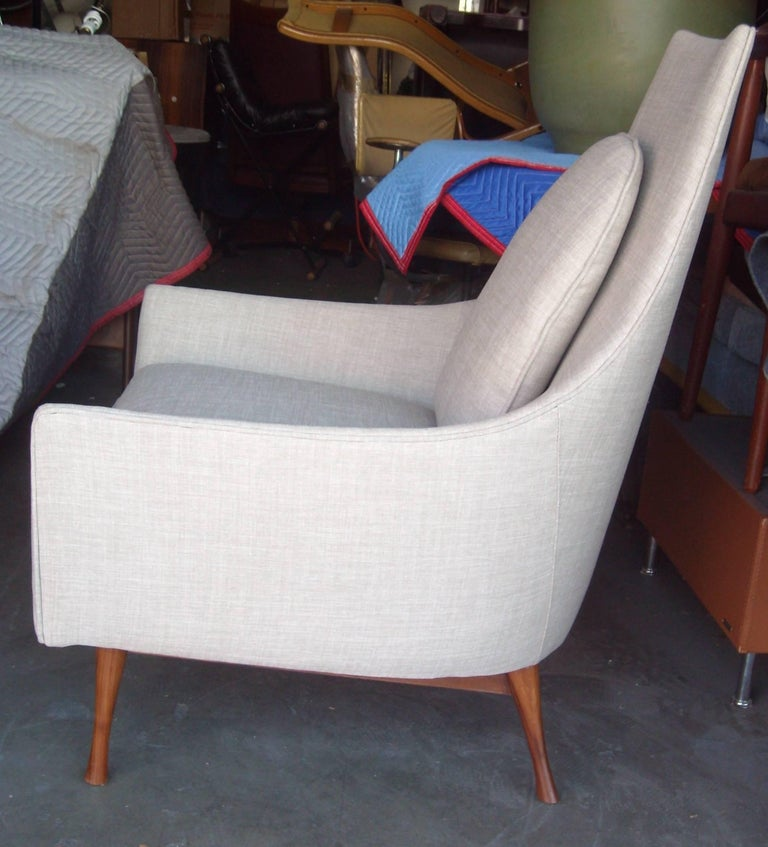 Paul McCobb Symmetric Group Lounge Chairs by Widdicomb In Excellent Condition For Sale In Los Angeles, CA