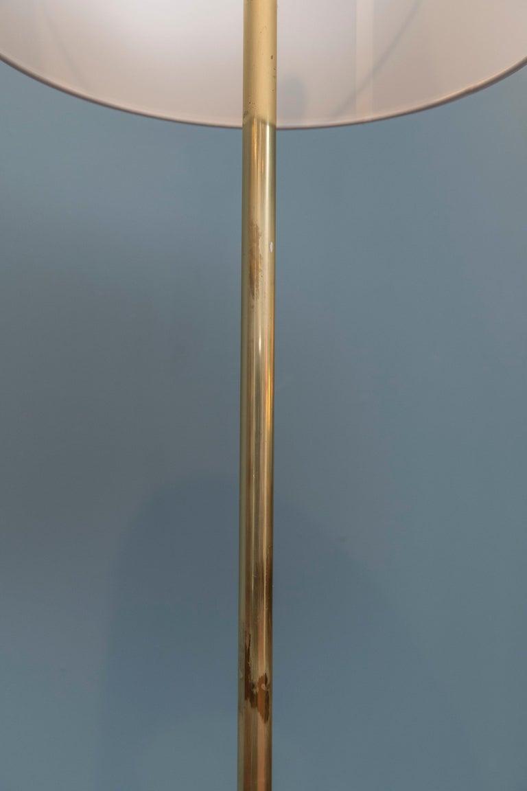 Brass Paul McCobb Tripod Floor Lamp For Sale
