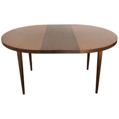 Paul McCobb Two-Toned Dining Table for Planner Group with Two Leaves