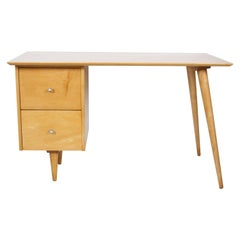 Paul McCobb Winchendon Modern 1560 Birch Desk