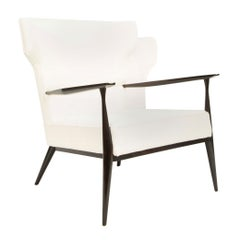Paul McCobb Wing Back Lounge Chair, Model 1329
