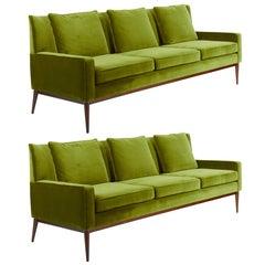 Grünes Sofa von Paul McCobb, 1955
