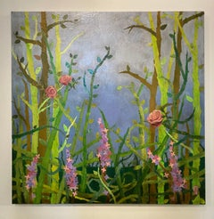 'Calm in the Briar,' by Paul Medina, Mixed Media on Canvas Painting