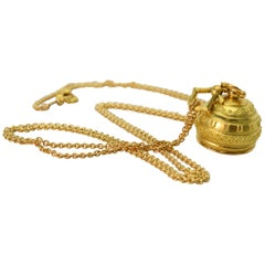 Paul Morelli Bell Charm Pendant Necklace