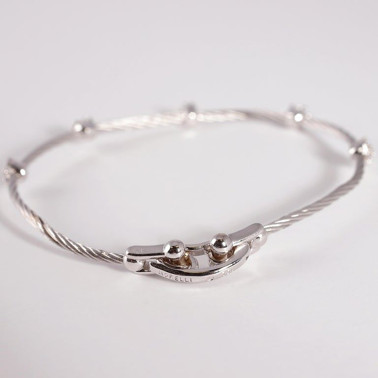 Paul Morelli Diamond Bracelet from the Cluster Collection For Sale 2