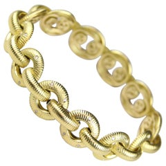 Paul Morelli Gold and Diamond Bracelet