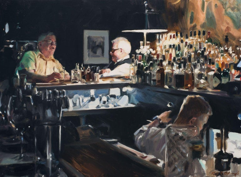 Paul Oxborough Interior Painting - The Regulars
