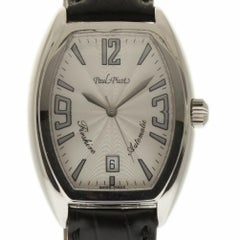 Paul Picot New 4097 Firshire Auto 2000 Steel Silver Box/Paper/2 Year Warranty