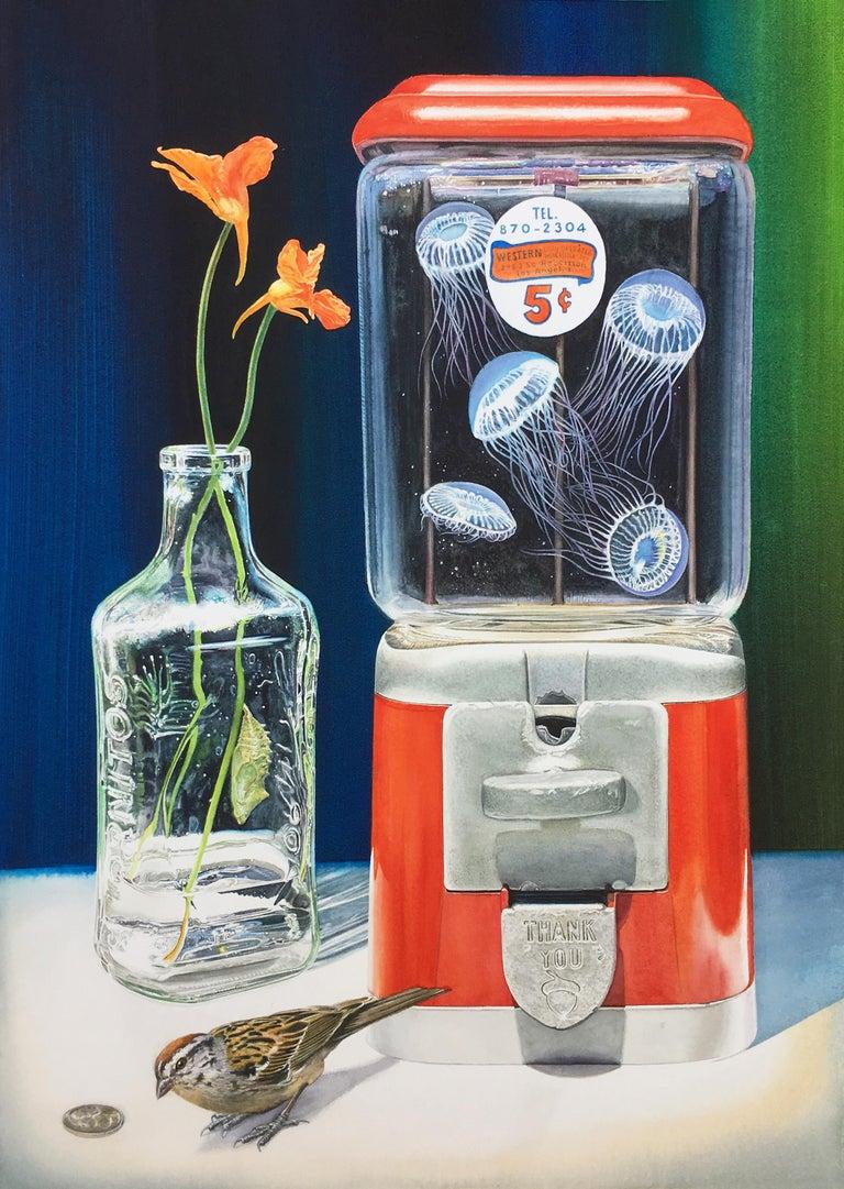 Paul Pitsker Animal Painting - Change