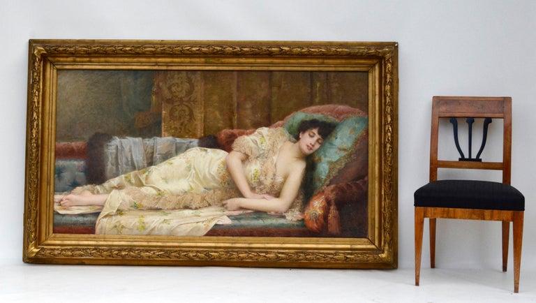 Paul Prosper Tillier, a Sleeping Beauty, 1870s For Sale 2