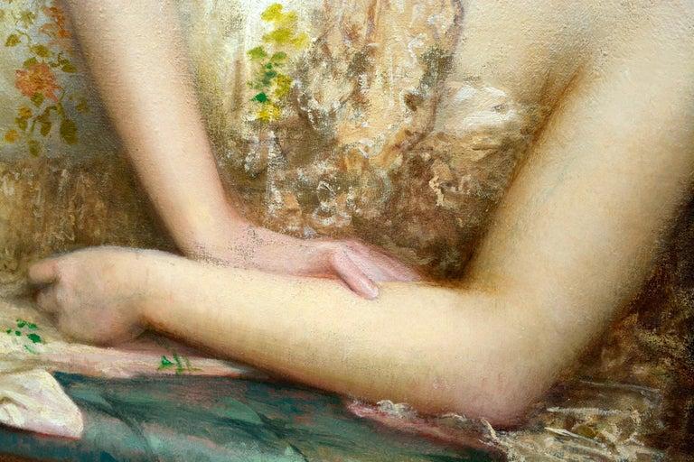 Late 19th Century Paul Prosper Tillier, a Sleeping Beauty, 1870s For Sale