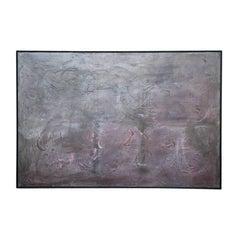 """Dark Matters"" Minimal Contemporary Abstract"