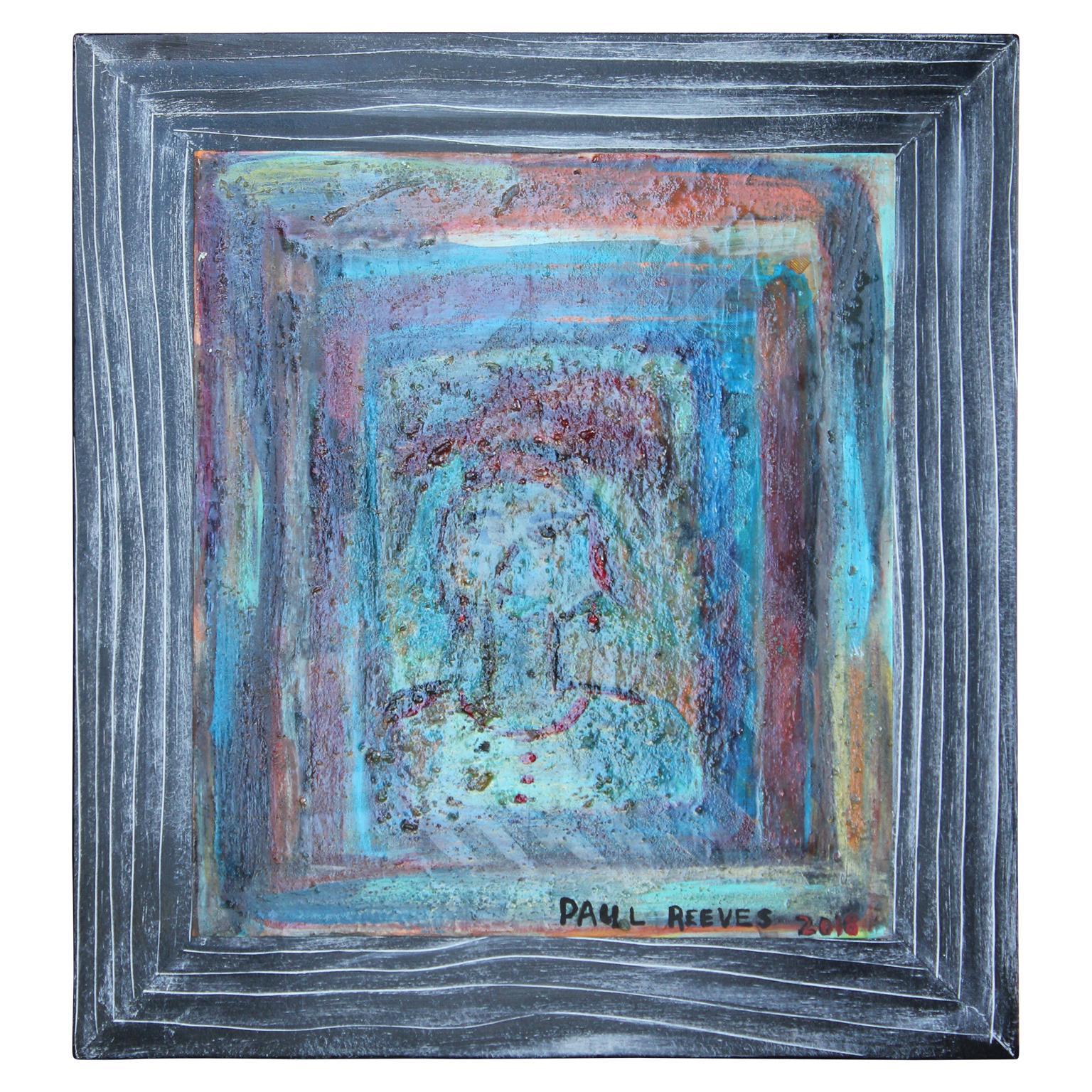 """Tusken Girl"" Minimal Contemporary Abstract"