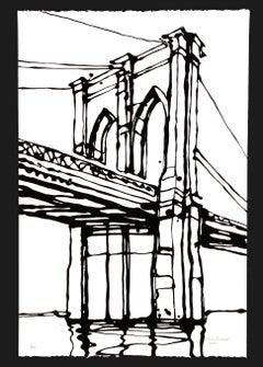 Brooklyn Bridge Screenprint