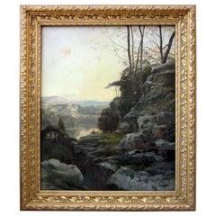 Paul Saïn, Landscape Painting