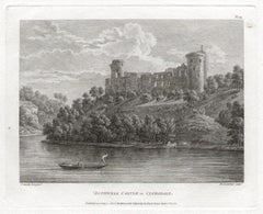Bothwell Castle in Clydesdale, Scotland. Paul Sandby C18th landscape engraving