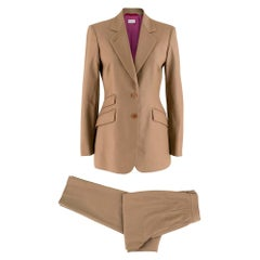 Paul Smith Wool Light Brown Trousers and Blazer 40/ 8UK