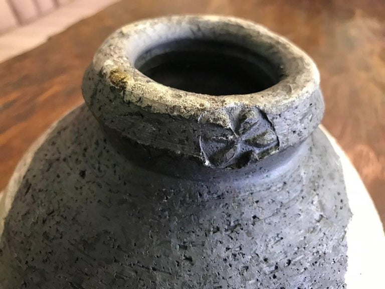 Paul Soldner Large Raku Fired Bowl For Sale 1