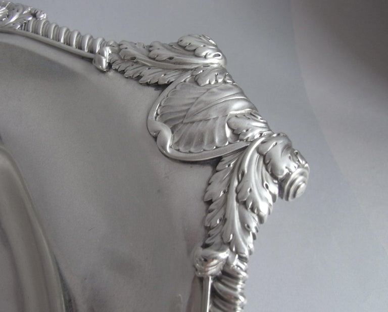 Early 19th Century Paul Storr, a George III Basket Made in London in 1809 by Paul Storr For Sale
