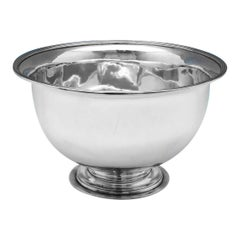Paul Storr Antique Sterling Silver Bowl from 1798