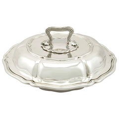 Paul Storr Antique William IV Sterling Silver Entree Dish, 1836