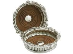 Paul Storr Sterling Silver Georgian Coasters