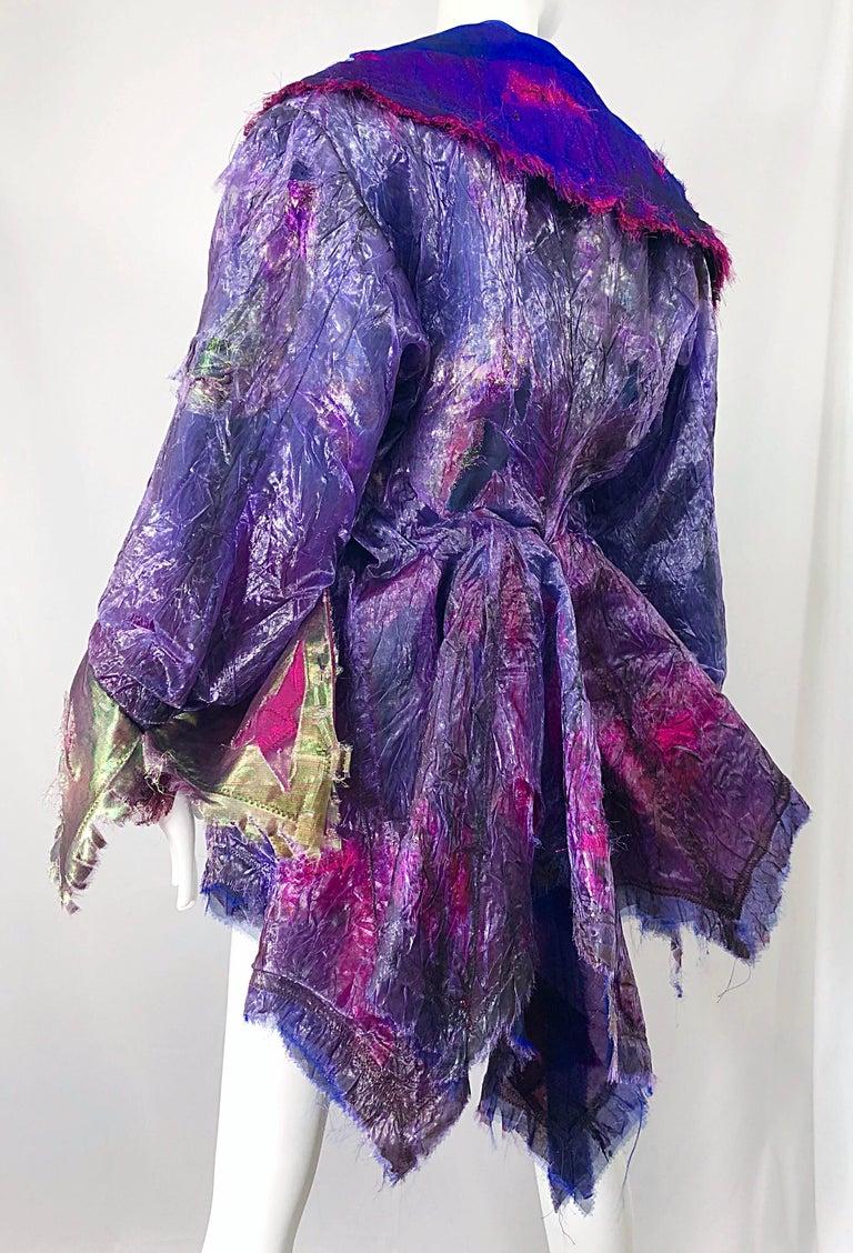 Paul Tazewell Tony Award Winner OOAK Purple Pink Rhinestone Custom Jacket For Sale 7