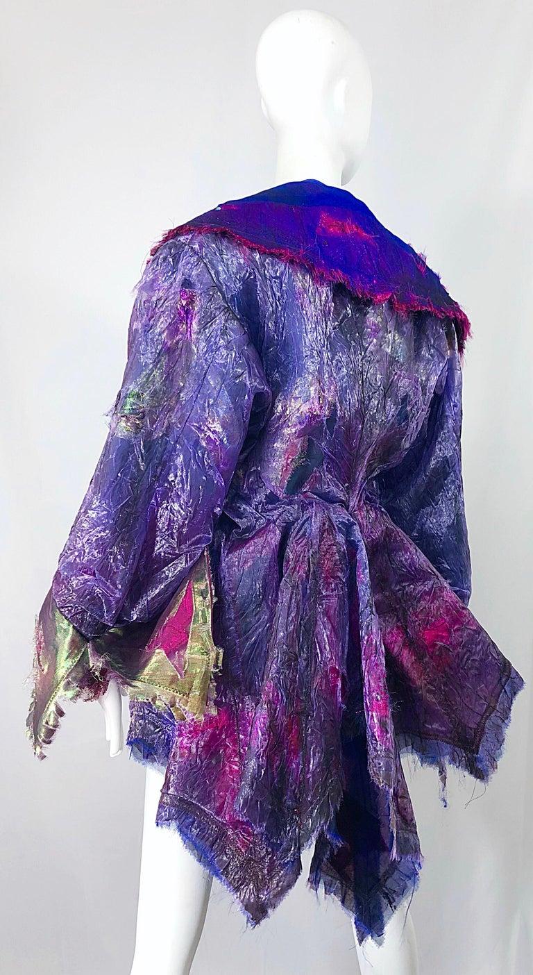 Paul Tazewell Tony Award Winner OOAK Purple Pink Rhinestone Custom Jacket For Sale 3