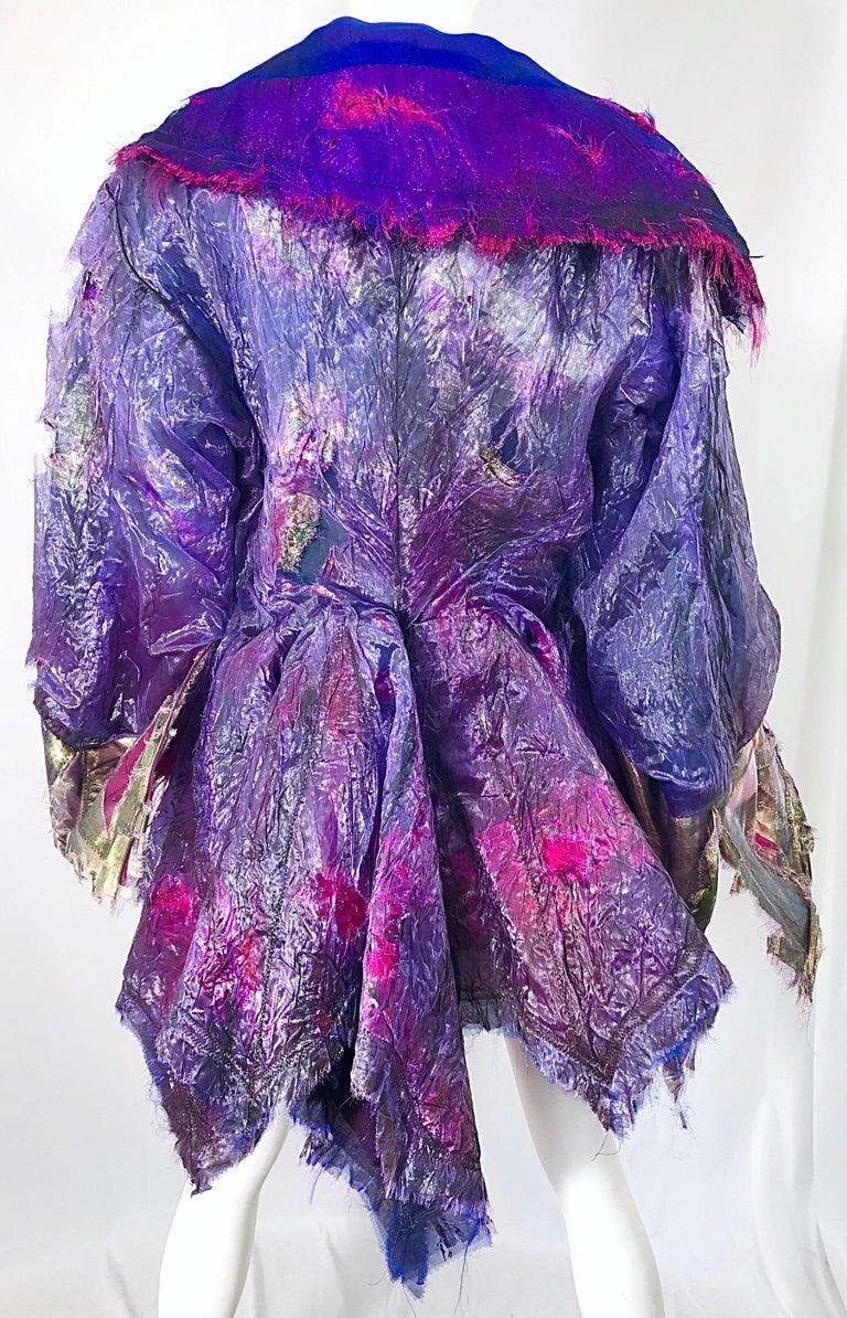 Paul Tazewell Tony Award Winner OOAK Purple Pink Rhinestone Custom Jacket For Sale 5