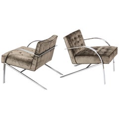 "Paul Tuttle ""Arco"" Lounge Chairs"