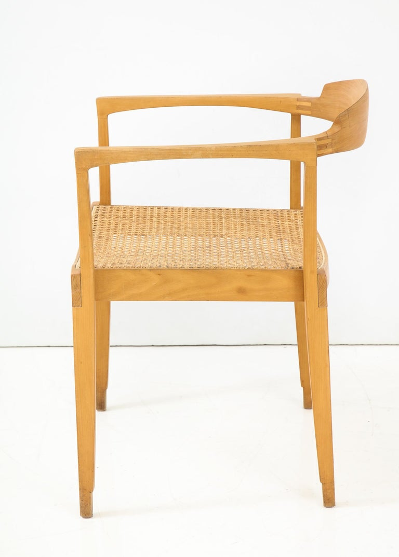 Cane Paul Tuttle Armchair For Sale