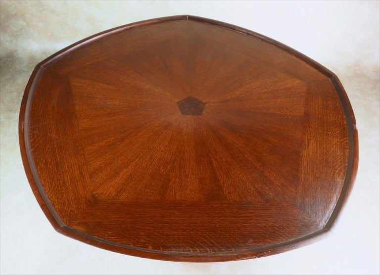 Mid-Century Modern Paul Tuttle for Baker Furniture Large Coffee Table For Sale