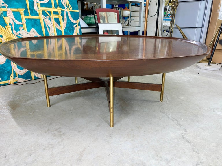 Mid-20th Century Paul Tuttle & Winsor White for Baker Cocktail Table For Sale