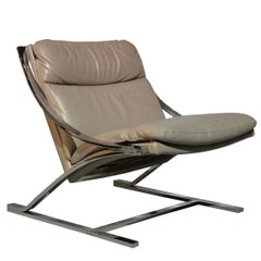 "Paul Tuttle ""Zeta"" Lounge Chair for Strassle of Switzerland, 1968"